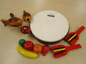 音楽教室の楽器